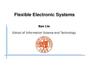 Flexible Electronic Systems