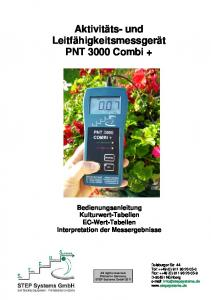 PNT 3000 Combi - STEP Systems GmbH